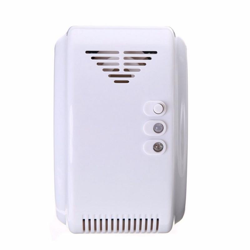 DC12V Security LPG Natural Gas Leak Sensor Detector For Home Kitchen 4