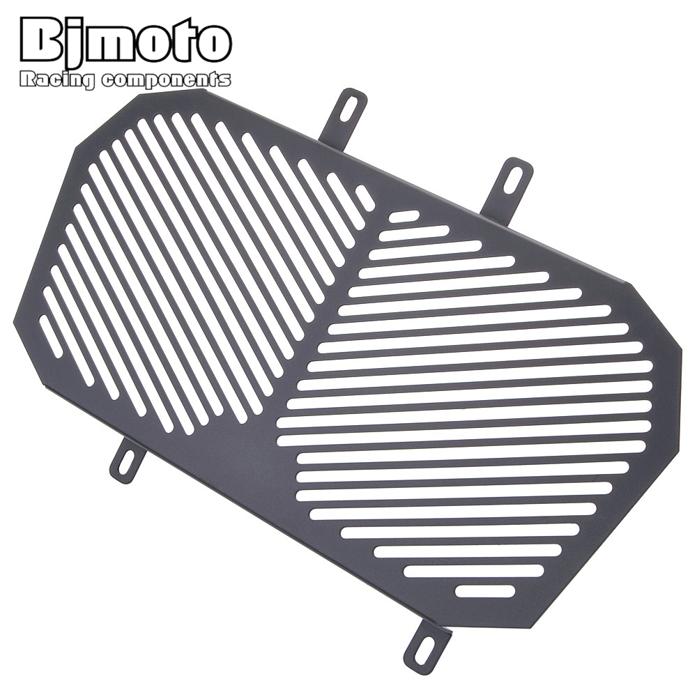 BJMOTO Aluminum Motorcycle Radiator Protection Water Tank Guard Grille Grill Cover For KTM DUKE 125 200 arashi motorcycle radiator grille protective cover grill guard protector for 2008 2009 2010 2011 honda cbr1000rr cbr 1000 rr