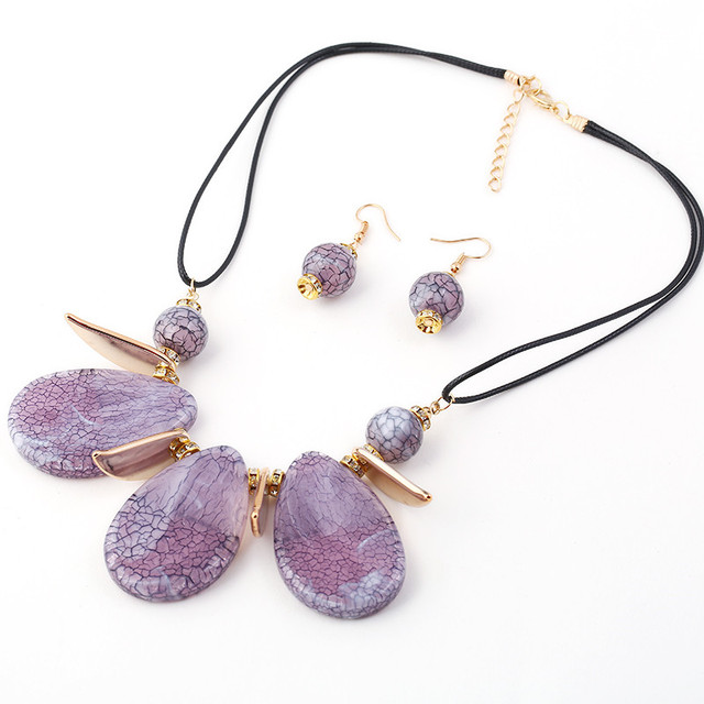 HOCOLE Jewelry Sets Bohemia...
