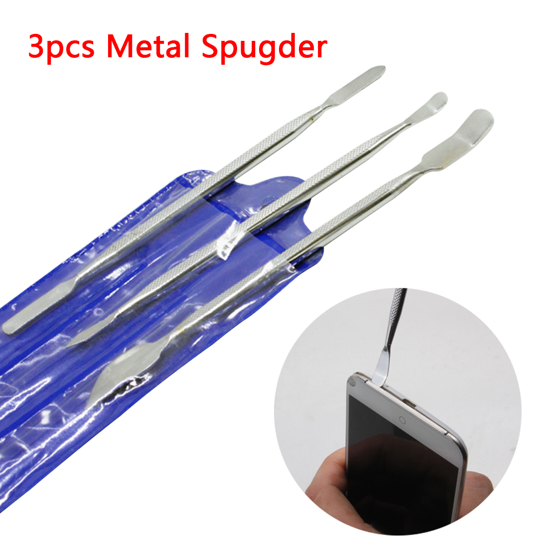 New Repair Tools Rods Opening Pry Metal Tablet Disassemble Professional Mobile Phone Spudger For IPhone