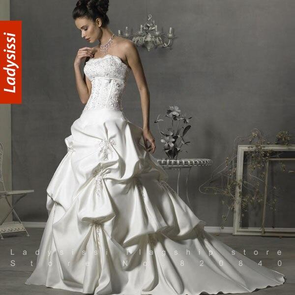 Fashionable Tube Top Train Slim Bridal Veil Fashion