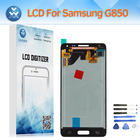 Super AMOLED LCD Screen Touch Digitizer Assembly for Samsung Galaxy Alpha Note 4 Mini G850 SM-G850F LCD Display Replacement+Tool