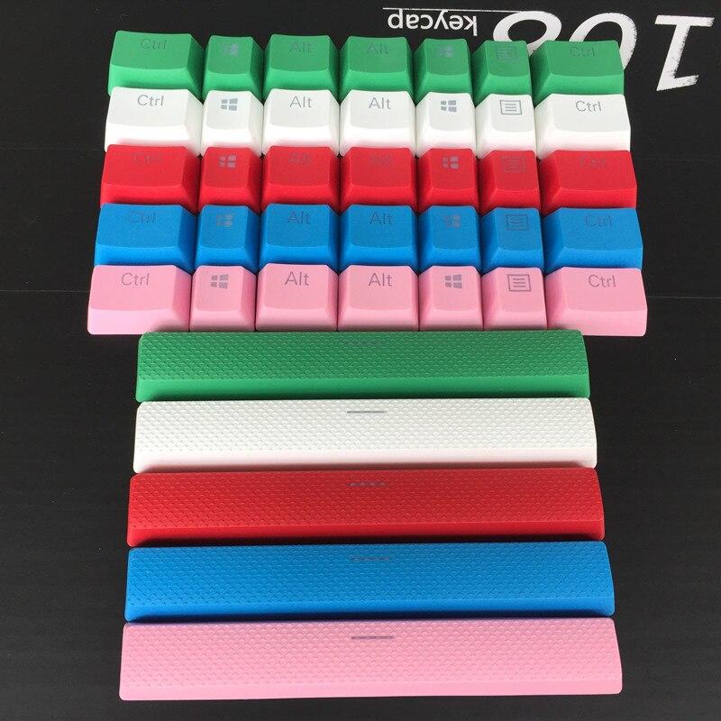 8 keys PBT Double shot Translucidus Backlit Additions Keycaps For Corsair STRAFE K65 K70 Logitech G710+Mechanicalgaming Keyboard(China)