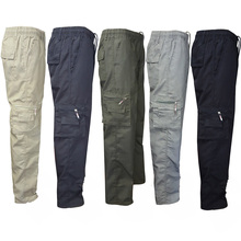 2019 New Tactical Cargo Pants Men Combat SWAT Army Military Pants Cotton Many Pockets Stretch Flexible Man Casual Trousers XXXL цена