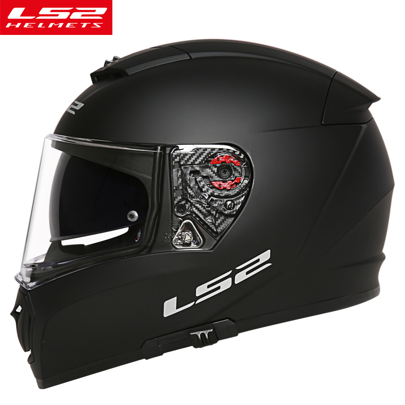 LS2 FF390 motorcycle helmet with anti fog pinlock shield full face motorbike racing dual lens helmet man DOT LS2 moto helmets