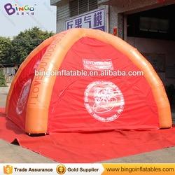 Darmowa wysyłka 4 m reklama nadmuchiwany namiot pająk z 4 nogi dostosowane nadmuchiwany namiot kopułowy dla imprezy komercyjne namiot do zabawy