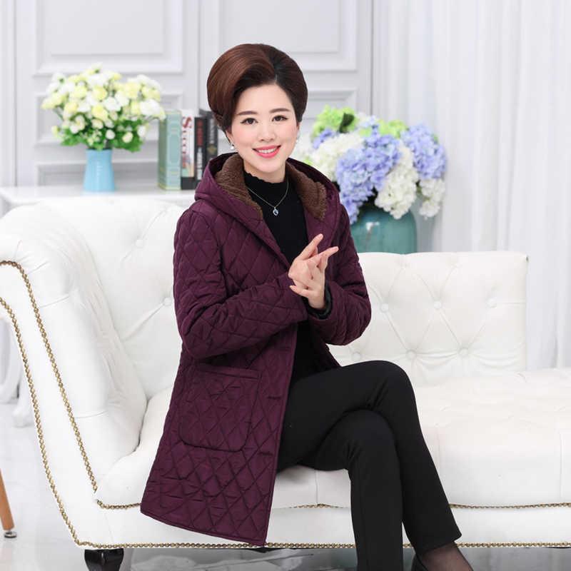 Зимнее хлопковое Женское пальто зима 2019 модная одежда женский длинный жакет, женский пиджак 5XL одежда верхняя средняя длина парки