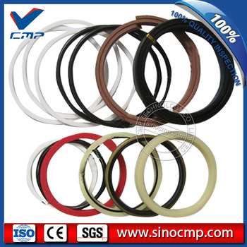 2 sets E325B 325B boom cylinder oil seal service kits, repair kit  , 3 month warranty
