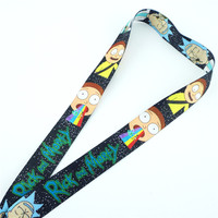 Rick and Morty Lanyard with ID Card Holder 1