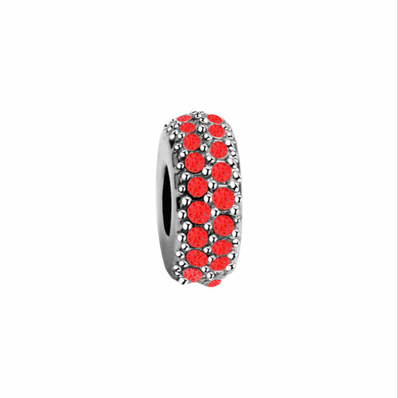 silver big hole beads charms fit european  women diy bracelets bangles alloy metal bead watermelon crystal beads jewelry