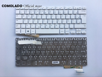 10 pieces BR Brazil Keyboard For SAMSUNG 905S3G 915S3G NP915S3G NP905S3G White Laptop Keyboard BR Layout