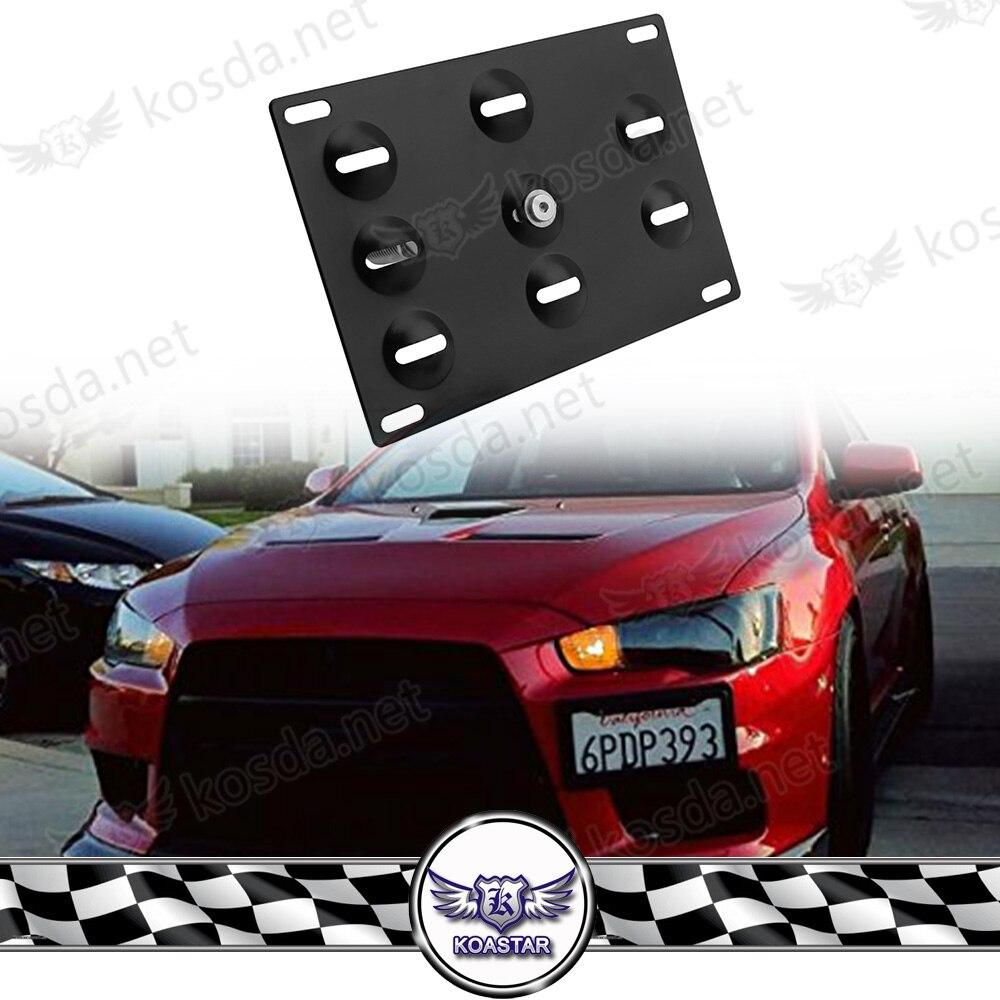 European Euro License Number Plate Holder Frame Surround Tag Bracket For USA CAR