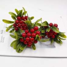 new high quality Christmas tree decoration accessories artificial pine simulation plant DIY scrapbook gift box