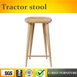 Бесплатная доставка U-BEST высокий трактор сиденье высокий Топ барный стул, счетчик домашний центр барные стулья с лесеновыми ножками