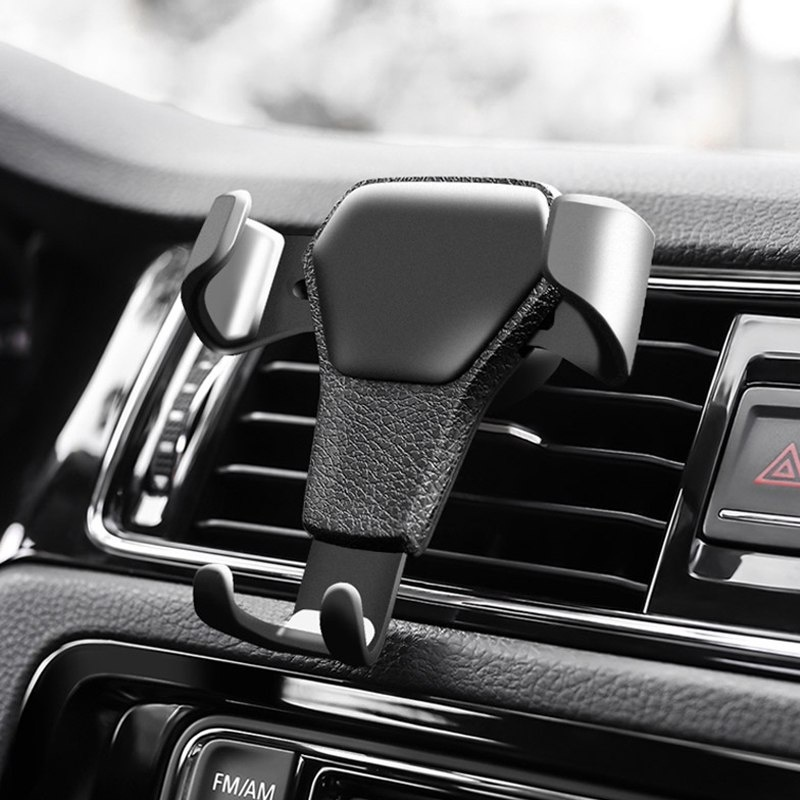 Universal Car Phone Holder Stand Air Vent Mount Clip For IPhone Samsung Huawei Gravity Sensor Car Bracket   Auto Telefoonhouder
