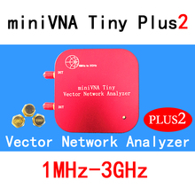 1 м-3 ГГц Векторный анализатор цепей miniVNA Tiny Plus2 VHF/UHF/NFC/RFID радиочастотная антенна анализатор генератор сигналов SWR/S-Parameter/Smith