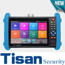 H.265 4K IPC9800Plus IP tester Analog HD&EX-SDI IP TVI CVI AHD CCTV Camera tester Monitor support TDR test,Optical power meter