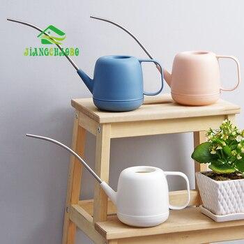 JiangChaoBo лейки из нержавеющей стали с длинным ртом, инструменты для полива дома, садовые горшечные лейки и мясистые лейки