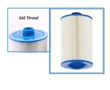 2pcs hot tub filter 205*150 (or 8'x6′) with SAE THREAD 1 1/2′ (3.8cm) spa pool filter