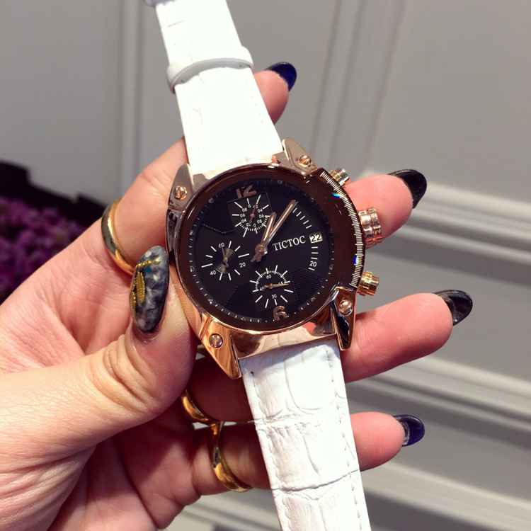 ФОТО Luxury Ladies Multi Color Srtap Watch Fashion Retro Square Dial Quartz Watch Calender Women Wristwatch Female Relojes OP001