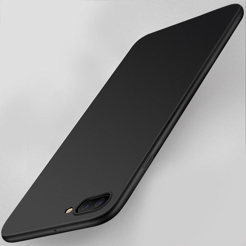 Ультра тонкий скраб матовая простой мягкий силиконовый гель ТПУ для OnePlus 5 1 + 5 A5000 сотовый телефон задняя крышка Чехол
