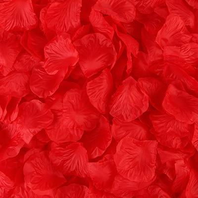 2000pcs/lot Wedding Party Accessories Artificial Flower Rose Petal Fake Petals Marriage Decoration For Valentine supplies 22
