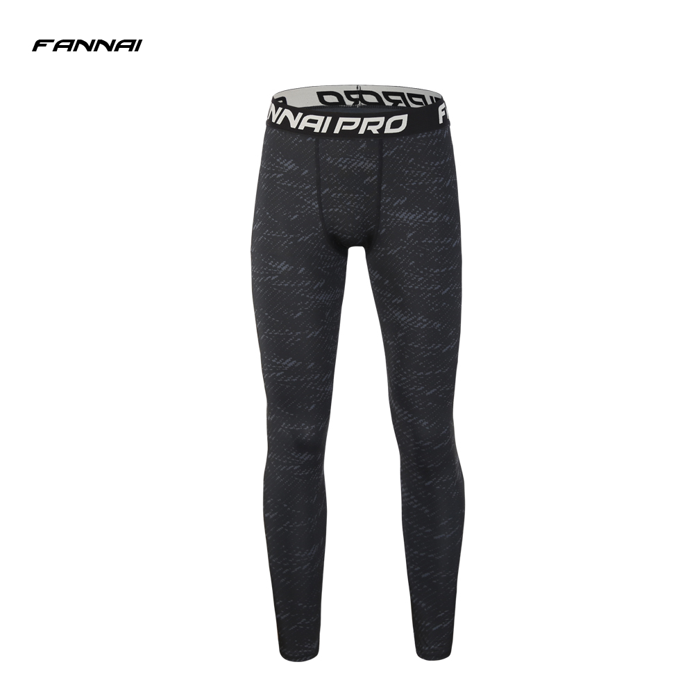 2018 New Mens Running Pant Compression Pants Sport Tights Basketball Gym Trousers Bodybuilding Jogging Skinny Leggings