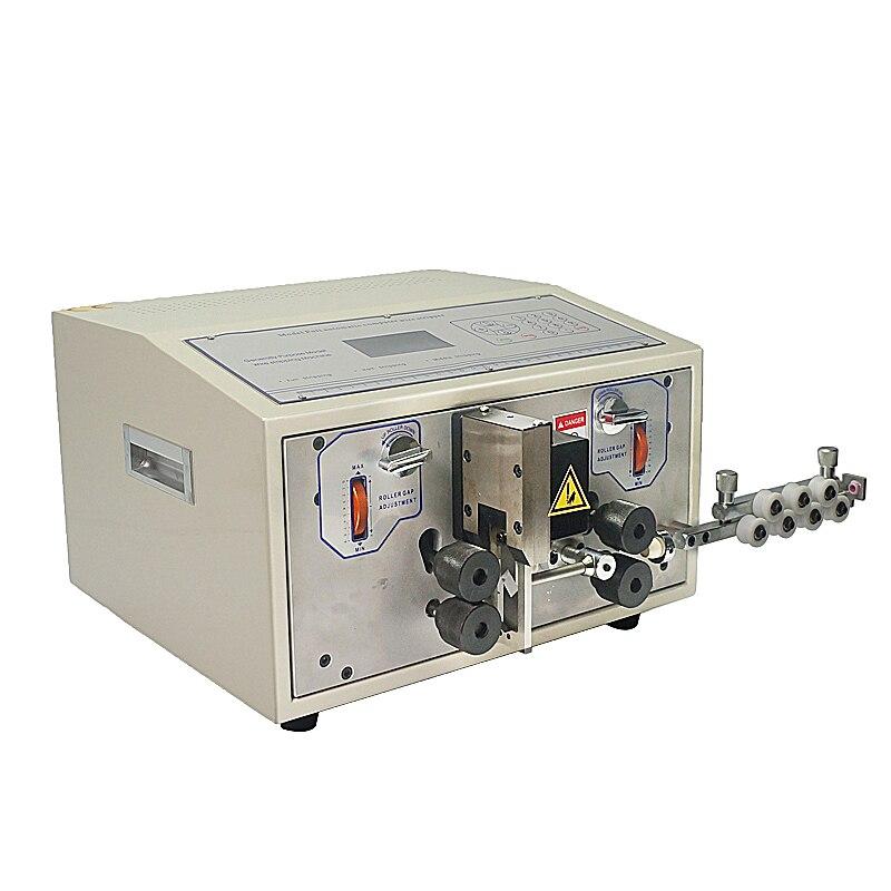 SWT508E Machine de découpe automatique de fil Machine de décapage d'ordinateur 0.1 à 8mm2