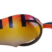 2017 Tsurinoya Popper Frog Lure 55mm/13.1g Snakehead Topwater Simulation Frog Fishing Lure Peche Bass Bait Leurre Souple