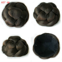 Jusuns Styling Tools Sytnhetic Fake Hair Bun Wig Hair Chignons Roller Hepburn Hairpiece Clip Buns Toupee
