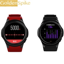 2018 Support 2G SIM card L1 Smart Watch Infrared Heart Rate Calls/SMS Sedentary Reminder Sleep Monitor smartwatch for phone hot