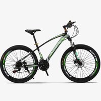 New Style 26 Inch 21 Speed Transmission Disc Cutter Ring Beam 40 Off road Racing One Round Mountain Bike