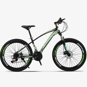 Nuevo estilo 26 pulgadas 21 velocidad transmisión disco Anillo del cortador Beam 40 todoterreno Racing One Round Mountain Bike