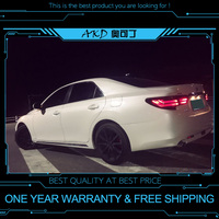 AKD tuning cars Tail lights For Toyota REIZ Mark X 2013 Taillights LED DRL Running lights Fog lights angel eyes Rear parking