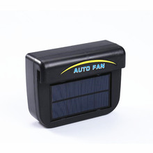 Exhaust Fan Big Solar panels Power Car Vehicle Summer Window Air Vent Cooler Ventilation System
