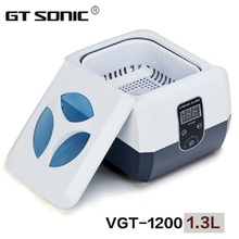 Hot Sale VGT-1200 Professional Jewelry, Razor blades, Denture, Nail Tools Combs Ultrasonic Cleaner 1.3L With Timer 110V, 220V by dhl professional digital dental 110v 220v mini ultrasonic cleaner for jewelry glasses circuit board baby s feeding tools toys