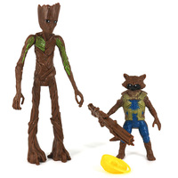 Rocket Raccoon and Groot Basic Action Figures The Avengers Endgame 1
