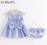 2018 תינוקות בנות להתלבש תינוק Bowknot הגדול שמלת מסיבת Brithday הראשון טבילת כפול בגדים לפעוטות ילדה פורמליות טוטו שמלות