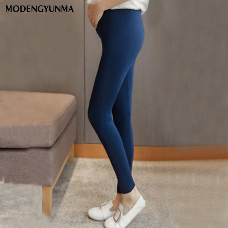 Moederschap Broek Modale Candy Kleur Leggings Voor Vrouwen 2019 Zomer Hoge Taille Stretch Office Vrouw Skinny Leggings Vrouwelijke Broek