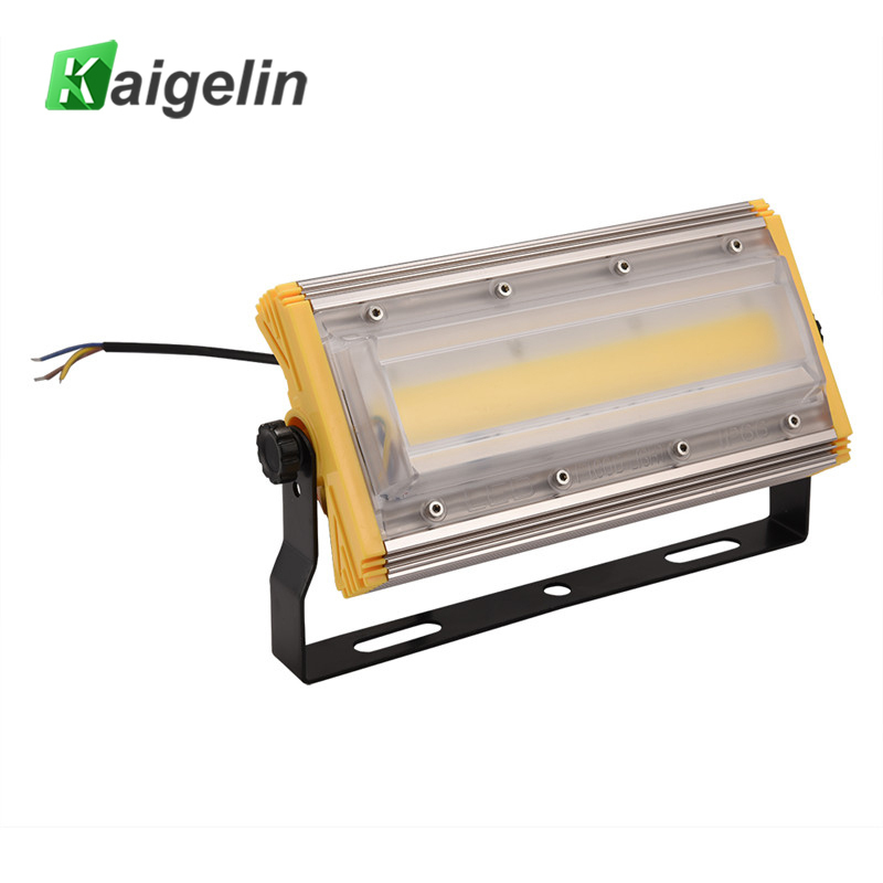 10 PCS Kaigelin 8th 50W COB LED Flood Light 4000LM Waterproof LED Floodlight Outdoor Lighting LED Spotlight Garden Wall Lamp
