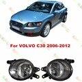 Estilo do carro nevoeiro lâmpada lâmpadas para VOLVO C30 2006 - 2012 1 conjunto