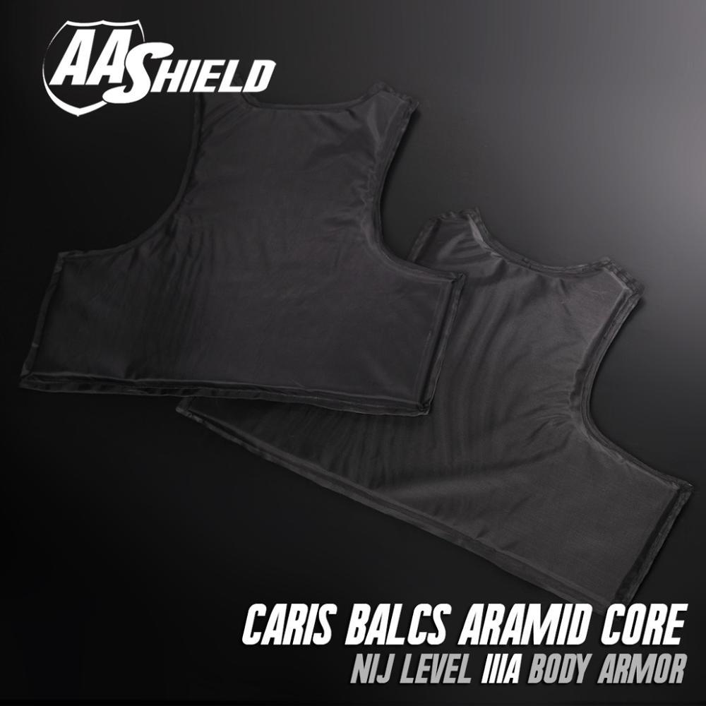 AA Shield Bullet Proof CIRAS BALCS Vest Core Body Armor Soft Inserts Ballistic Soft Teijin Panel NIJ Lvl IIIA 3A Size S-M m2002 men s fashionable stretch cotton vest white size m