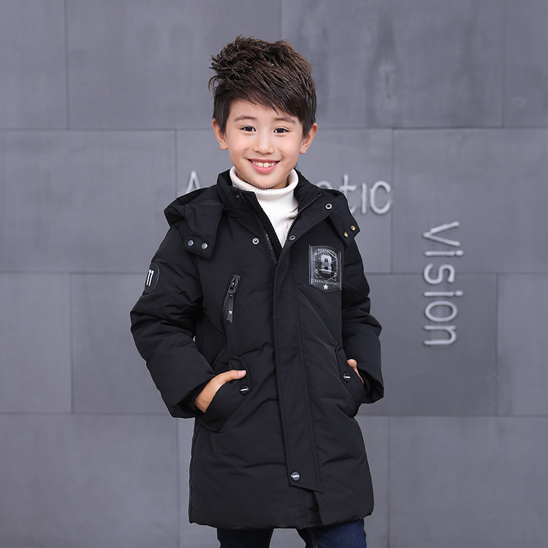 2017 duck down long jacket for boys girls in autumn winter warm children clothes fluff coat baby jacket clothes for kids gift new 2017 winter baby thickening collar warm jacket children s down jacket boys and girls short thick jacket for cold 30 degree