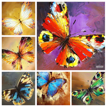 Animal Full Diamond Mosaic Embroidery 5d Painting Cross Stitch Diy Butterfly Needlework