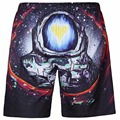 3D Print Astronaut  Mens Beach Shorts Fit Men Casual Shorts Sea Quick-drying Board Shorts xl Summer Man Bodybuilding