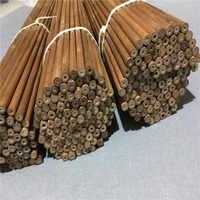 12 sztuk wysokiej jakości bambusa strzałka wał długość 80/84cm OD 7.5mm 8.0mm 8.5mm dla dzięki czemu bambusa strzałka łucznictwo polowanie strzelanie