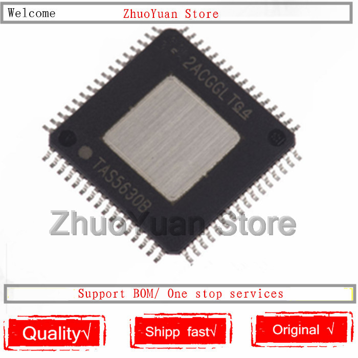 1PCS/lot New Original TAS5630B Chip TAS5630BPHDR QFP64 TAS5630BPHD HTQFP64 TAS5630 IC Chip