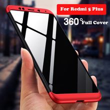 GKK Original Case For Xiaomi Redmi 5 Plus 5 Pro Redmi5 360 Full Protective Shockproof Matte Cover For Xiaomi Redmi 5 Plus Prime asling drop proof protective cover case for xiaomi redmi 5