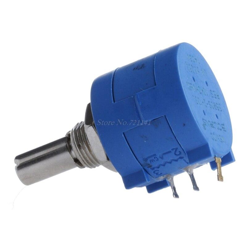 5PCS 10K Ohm 3590S-2-103L Rotary Wirewound Precision Potentiometer Pot 10 Turns
