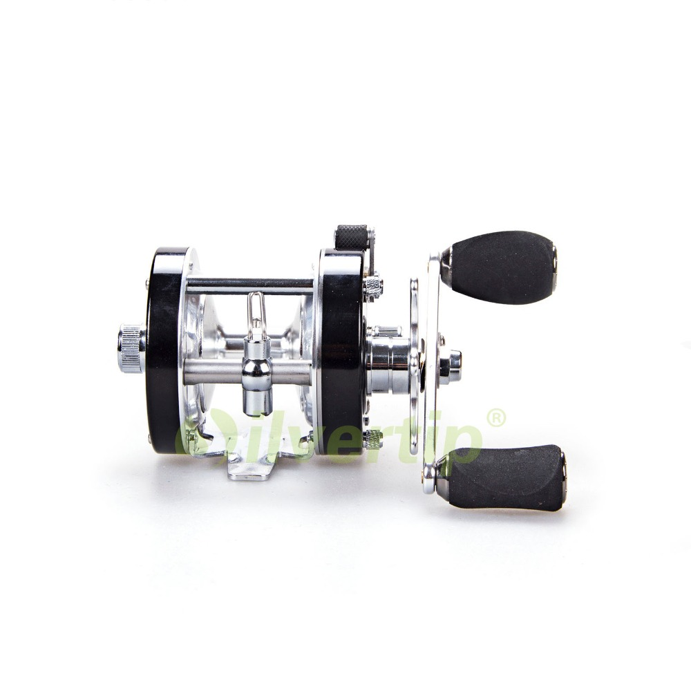 Free Shipping 10 BB Baitcasting Fishing Reel Left Hand Boat Trolling Bait Casting DMK DM40L nunatak original 2017 baitcasting fishing reel t3 mx 1016sh 5 0kg 6 1bb 7 1 1 right hand casting fishing reels saltwater wheel